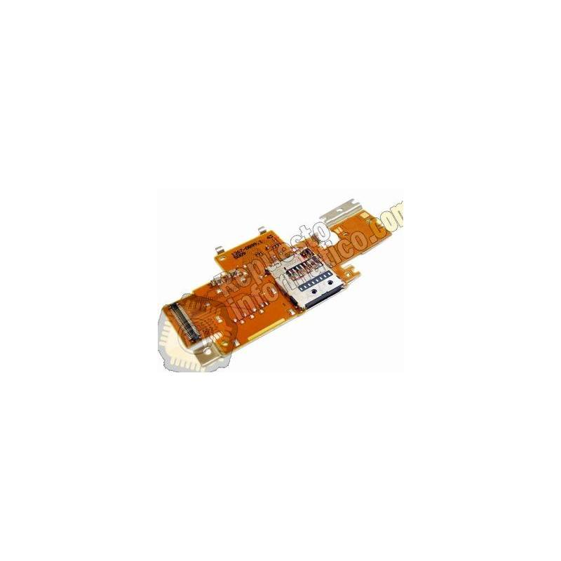 Flex con Lector de tarjeta de memoria Micro SD para Sony Xperia Tablet Z SGP 321