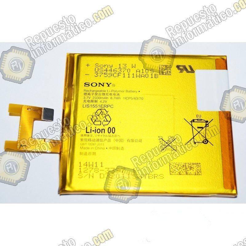 Batería Sony Xperia M2 Aqua - dual/E3 Xperia Z (Swap)