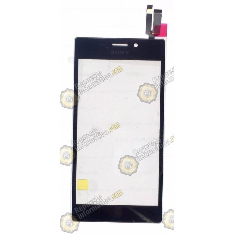 Táctil Sony Xperia M2 (Dual) S50H D2303 D2305 D2306 Negra