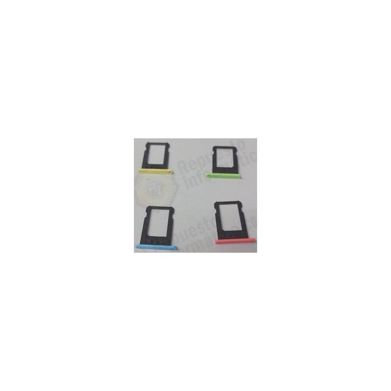 Porta Sim Colores iPhone 5C azul
