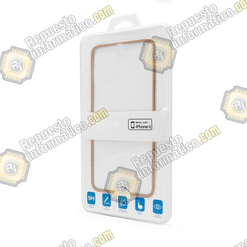 "Cristal Templado Borde Fino iPhone 6 (4.7"") (Dorado)"