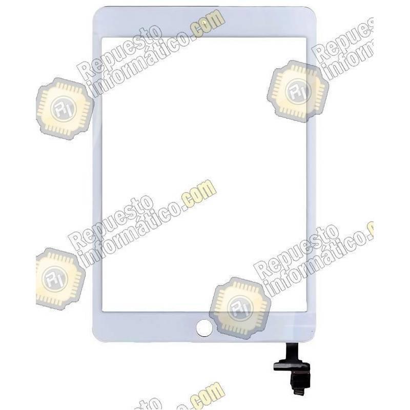 Táctil iPad Mini 3 Blanco + Conector IC