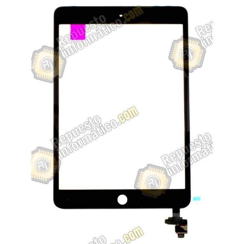 Táctil iPad Mini 3 Negro + conector IC