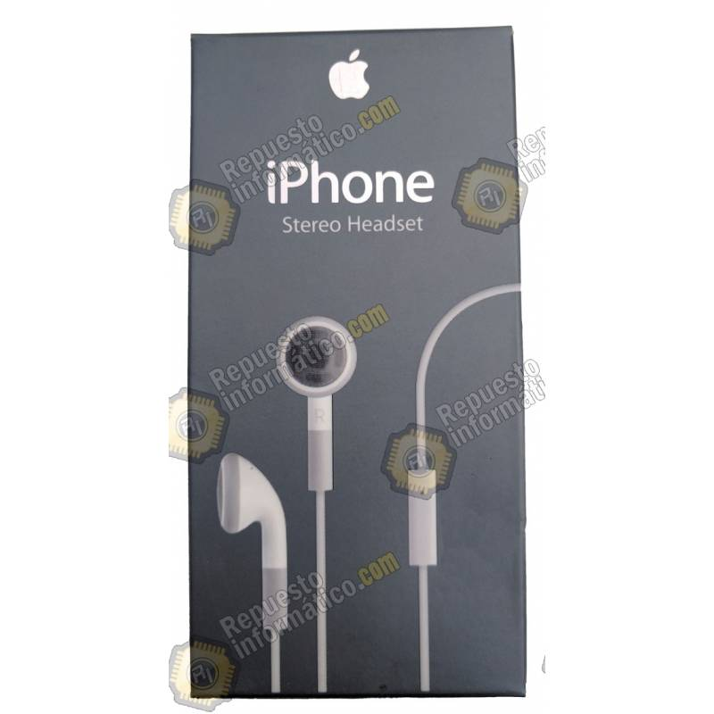 Cascos Auriculares iPhone Stereo Originales Apple
