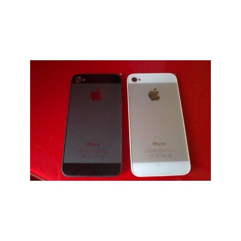 Tapa Trasera iPhone 4 CONVERSIÓN iPhone 5 Negra