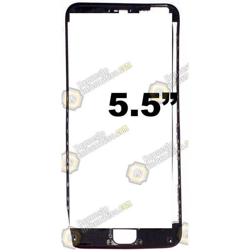 "Marco Flexible intermedio para iPhone 6 PLUS (5.5"") (Negro)"