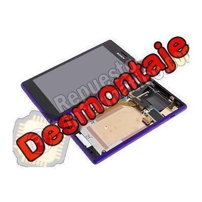 Pantalla Completa Sony Xperia M2 DUAL S50H D2302 violeta (Swap)