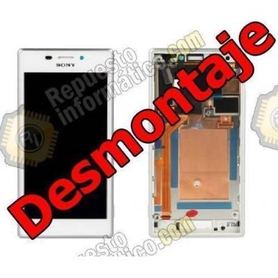 Pantalla Completa Sony Xperia M2 DUAL S50H D2302 Blanca (Swap)
