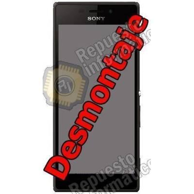 Pantalla (LCD+TACTIL+MARCO) Sony Xperia M2 DUAL D2302 Negra (Swap)