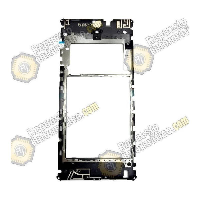 Tapa trasera Xperia C5 Ultra Dual E5533 Chasis (Negra)