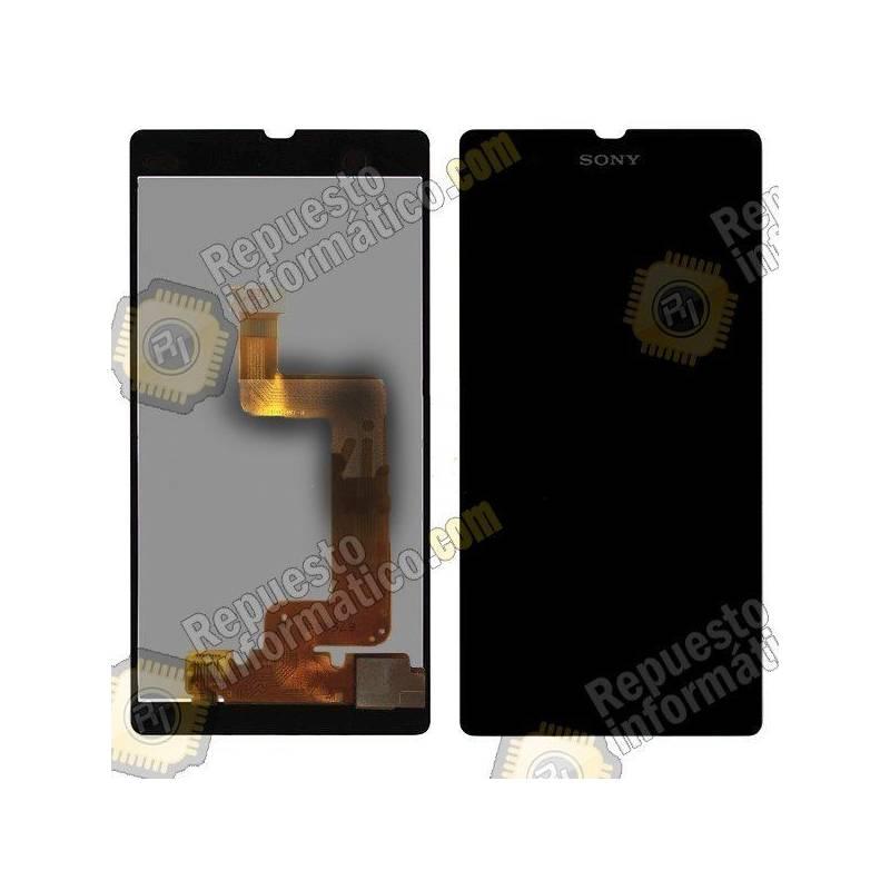 Pantalla (LCD+Táctil+Marco) Xperia T3 (Negra)