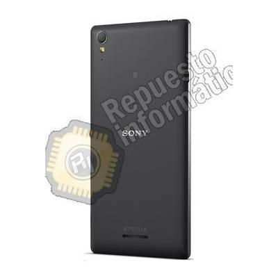Tapa Trasera para Sony Xperia T3 Negra (Swap)