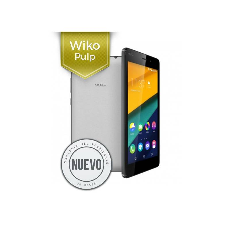 Wiko Pulp - Dual Sim 16GB Color Blanco