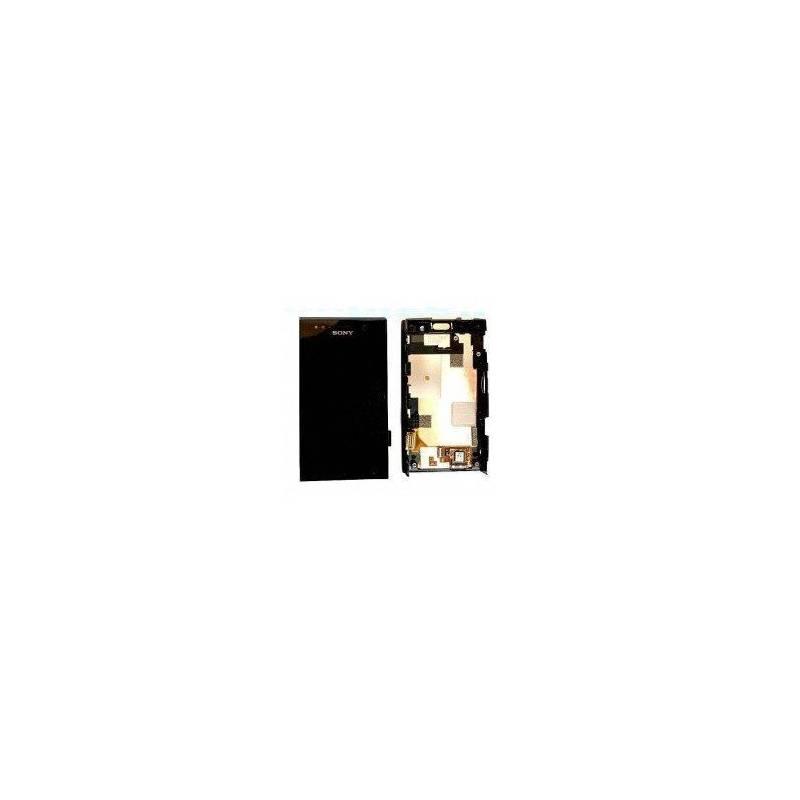 Pantalla (LCD+Táctil+Marco) Xperia U St25i