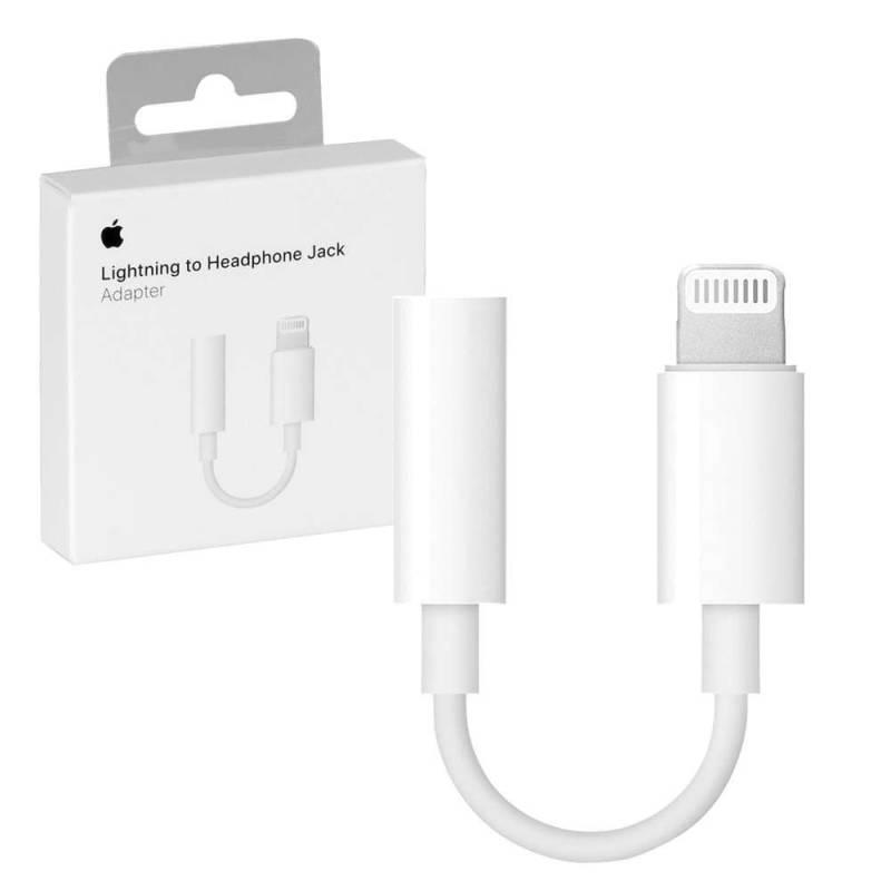 Adaptador Lightning a Auriculares Jack 3.5 mm Original Apple