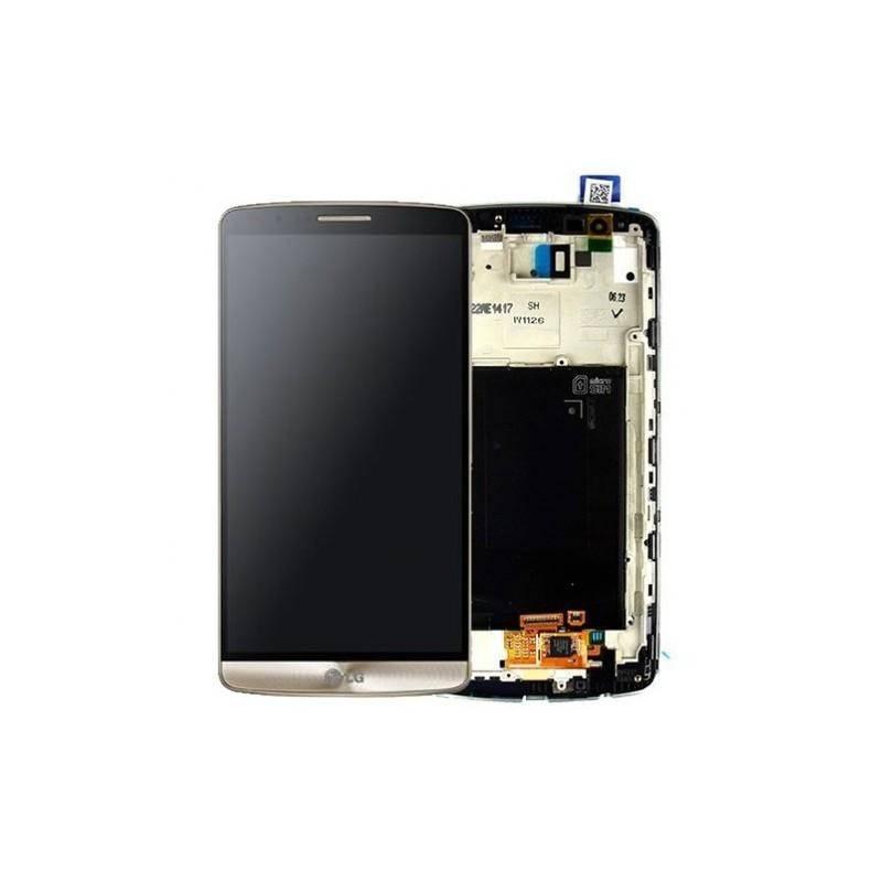 Pantalla (Lcd+Táctil+Marco) LG G3 D855 Dorada