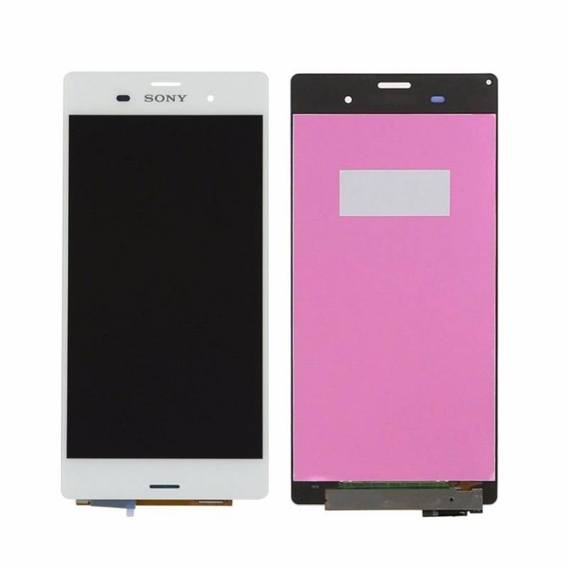 Pantalla Completa Sony Xperia Z3 D6603 Blanca