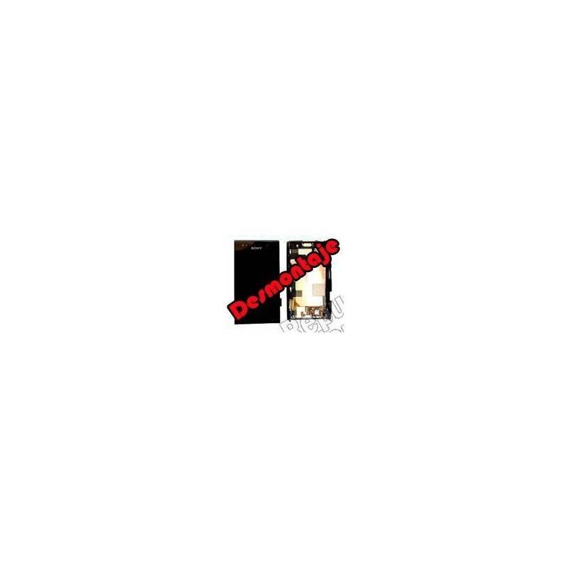 Pantalla (Lcd+tactil+marco) Xperia U St25i (DESMONTAJE)