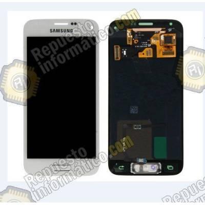 Pantalla blanca (LCD+Tactil) Samsung G800F (GALAXY S5mini) directo de fabrica