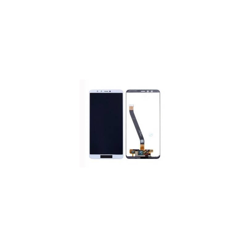 Pantalla LCD+Tactil Huawei Y9 2018 Blanca Fla-lx3 Fla-l22 Lx21