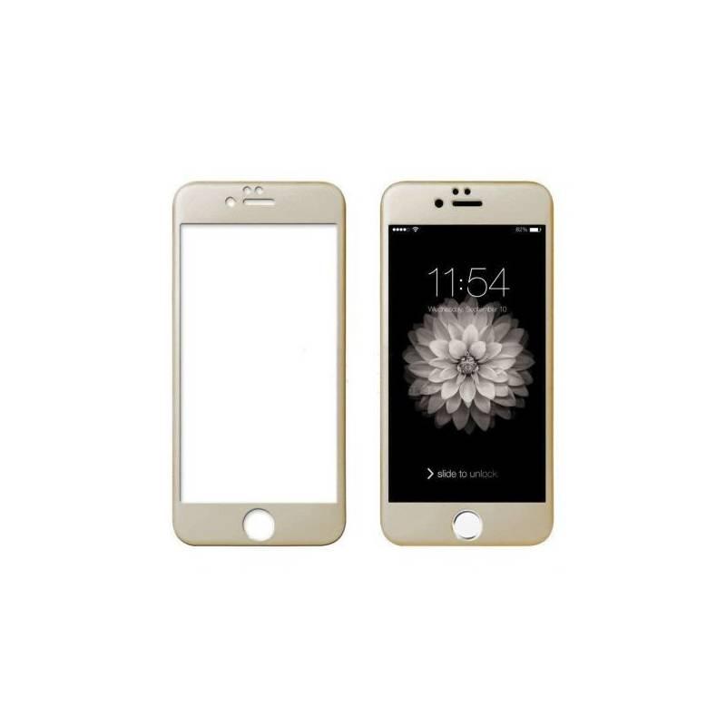 Cristal Templado 3D Dorado IPhone 6 Plus / 6S Plus Dorado