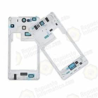Carcasa INTERMEDIA con LENTE de Cámara Sony Xperia V LT25I Blanca