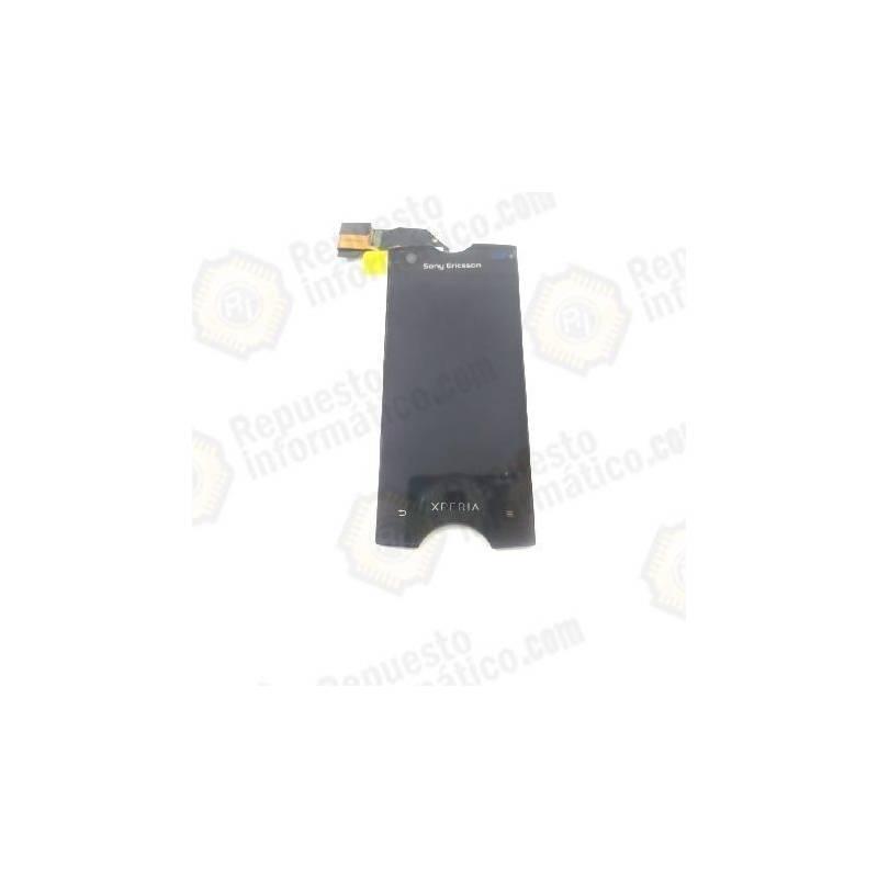 Pantalla, LCD+Táctil, Negro. Xperia Ray ST18