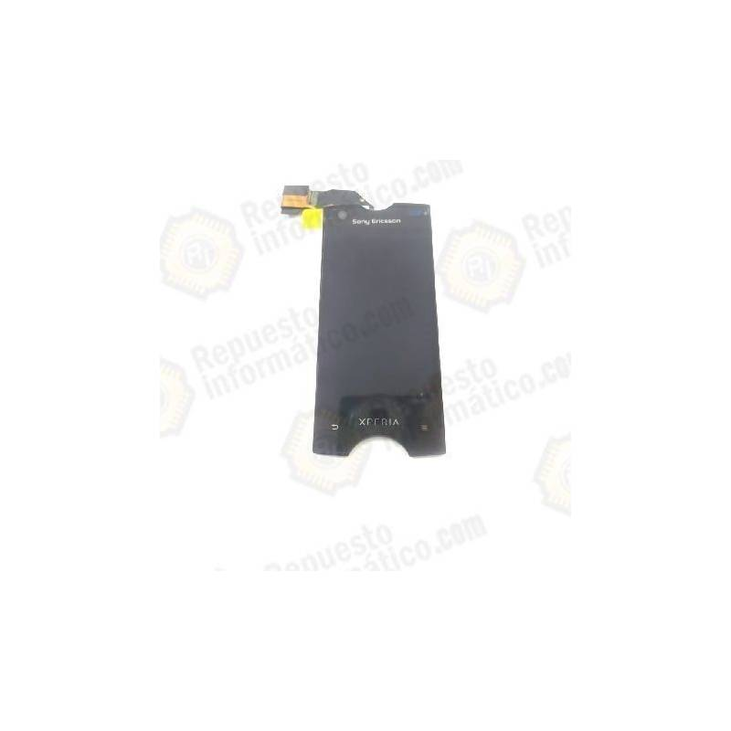 (*)PANTALLA TACTIL + LCD COMPLETA XPERIA RAY ST18 NEGRA