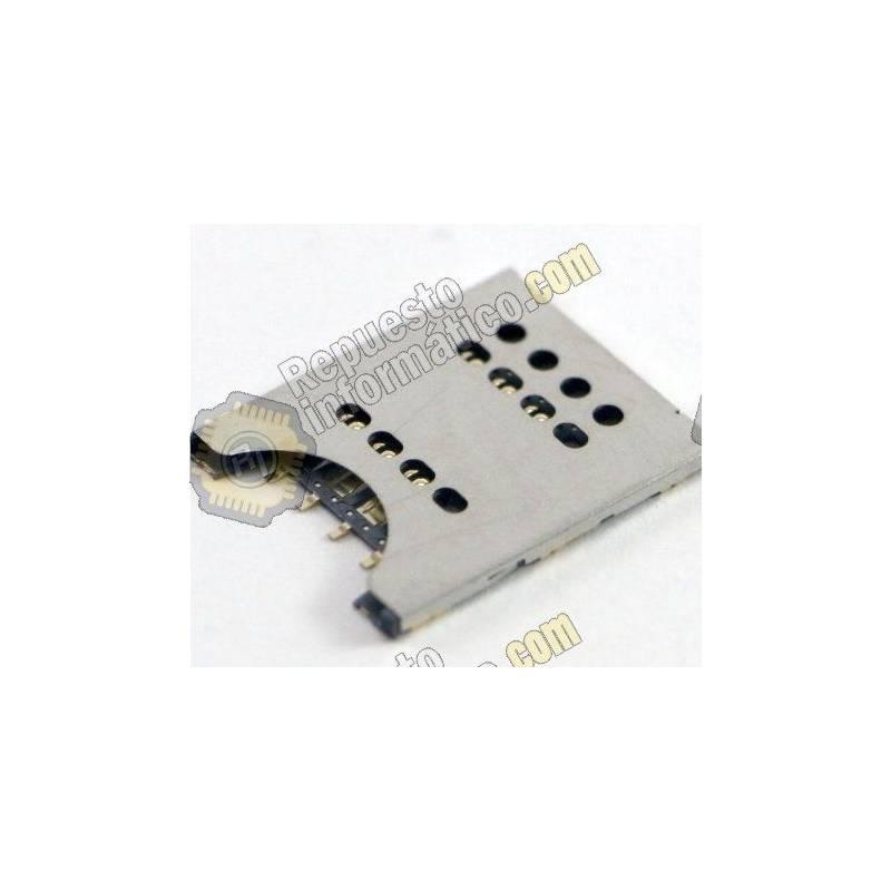 Conector Lector Sim Xperia J (st26i), RAY (st18i),