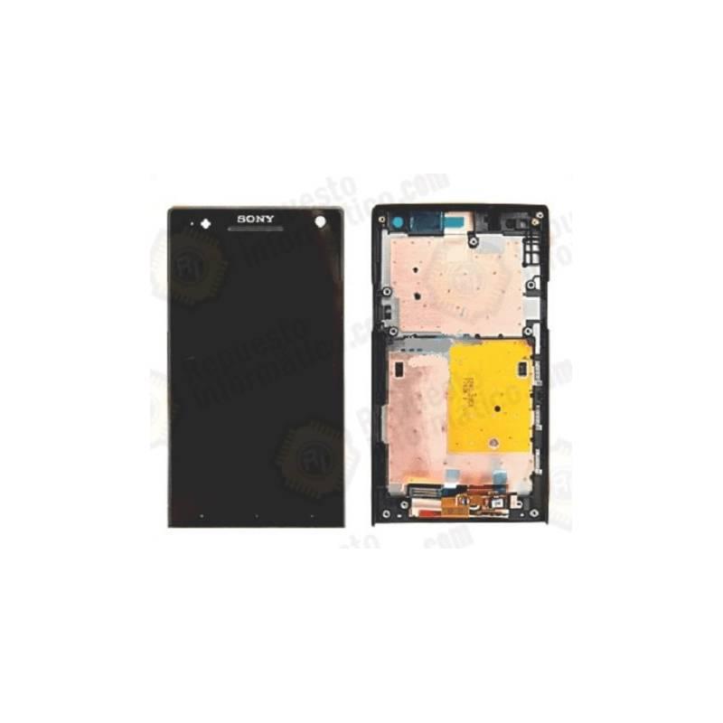 Pantalla completa Sony Xperia S LT26i Original Negro (Swap)