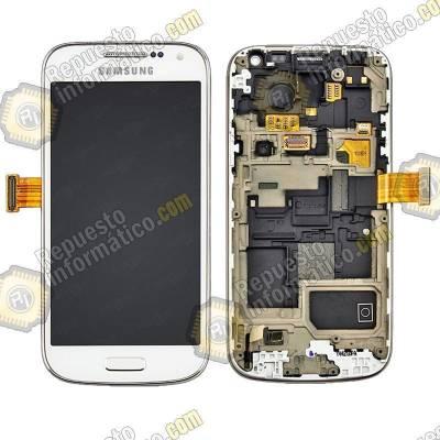 Pantalla (lcd+tactil+marco) s4 mini i9195 (Blanca) 100% original (Directa de fabrica)