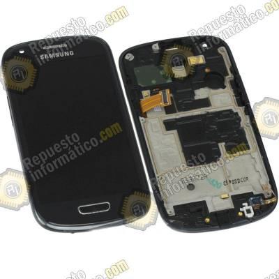 Pantalla Completa Samsung Galaxy S3 Mini (i8190) Negra (Directo de Fabrica) 100% Testeada