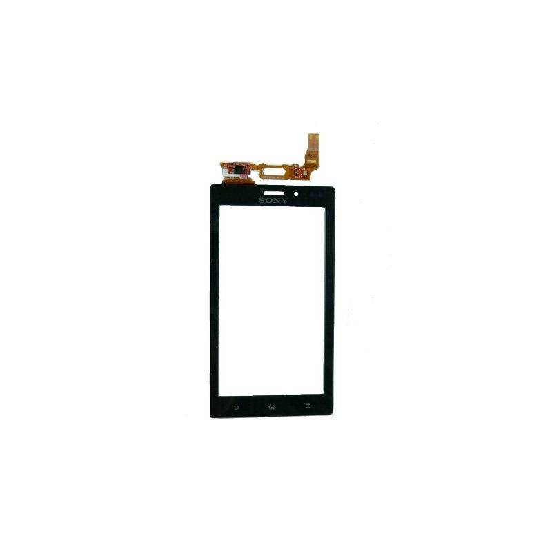 Táctil Sony Ericsson Xperia Sola mt27i Negro