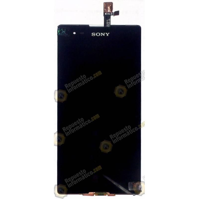 Pantalla LCD + Táctil Sony Xperia T2 DUAL D5322 Negra
