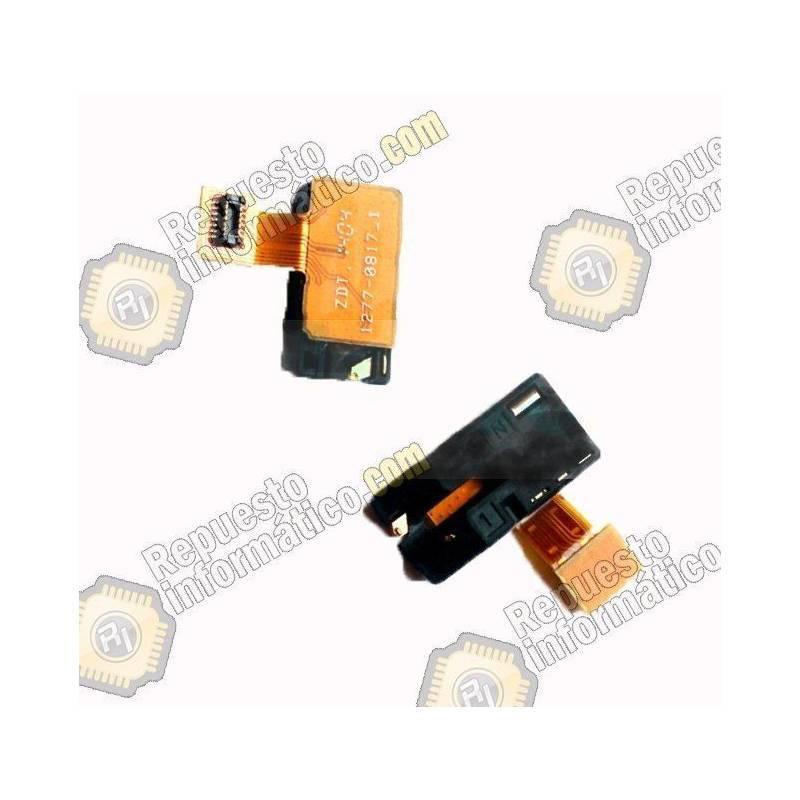 Jack de audio para Sony Xperia T2 D5322, D5303