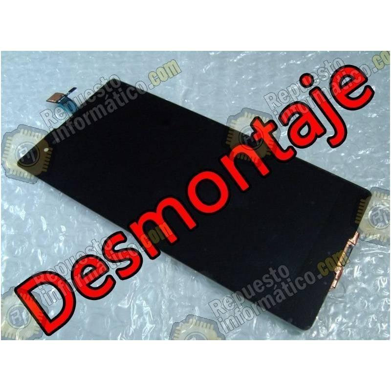 Pantalla (Lcd+tactil+Marco) negra XPERIA T2 ULTRA D5322 (Desmontaje)