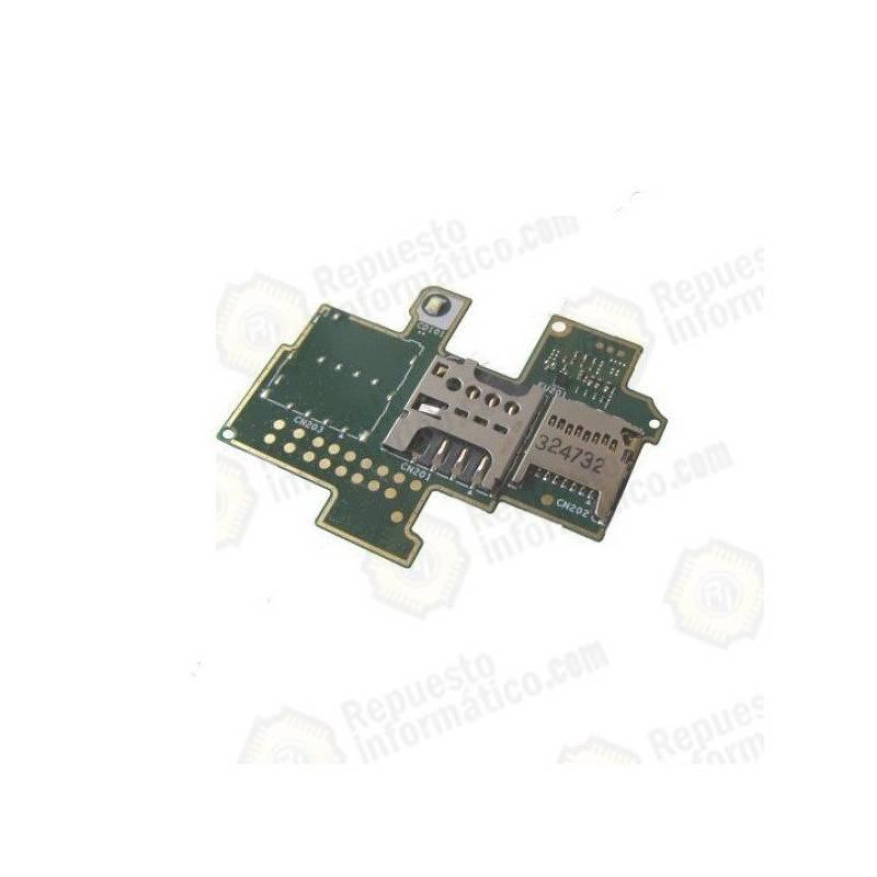 Flex módulo Lector Sim y memoria SD Xperia M C1904