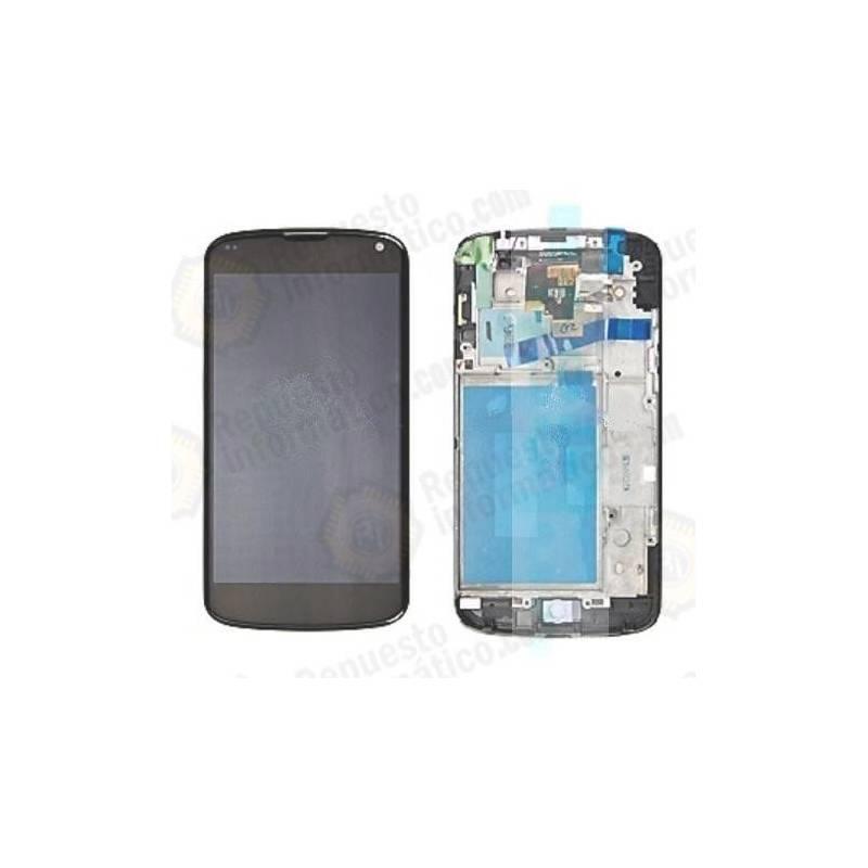Pantalla (Lcd+Tactil+marco) LG E960 Google Nexus 4