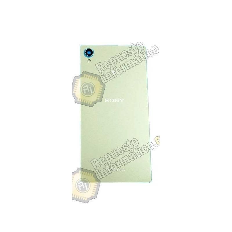 Swap Tapa Trasera+ Lente+ NFC Xperia M4 Aqua E2303/06/53 (SILVER)