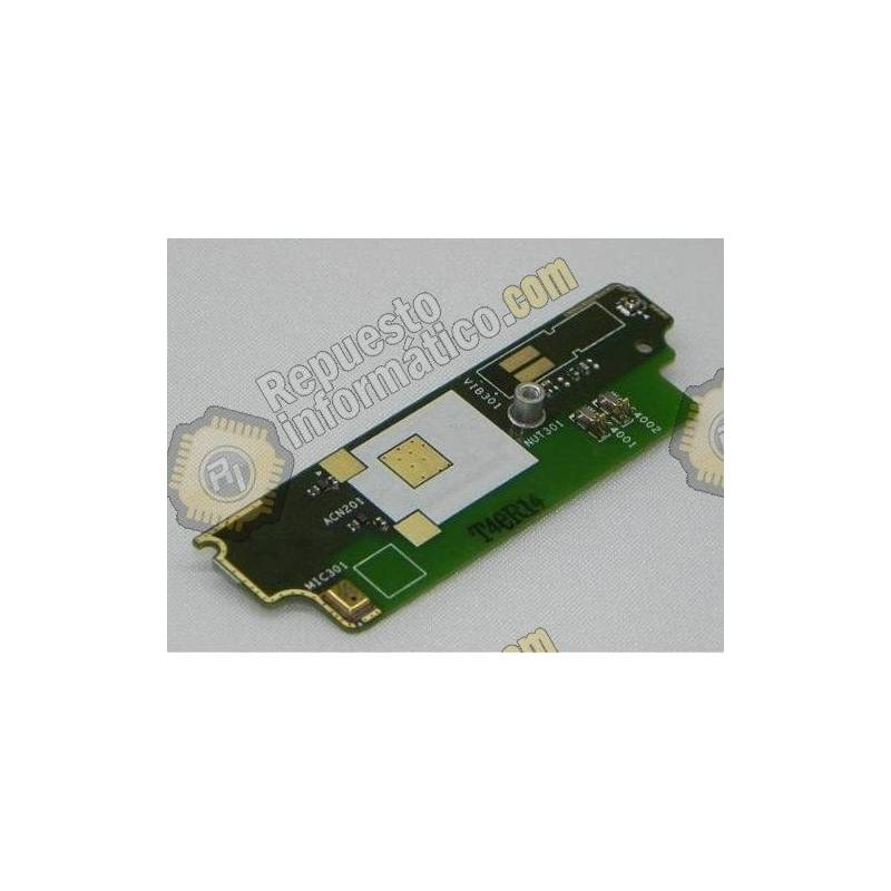 Placa Teclado Funcion + Micro Original Sony Xperia St23i Miro