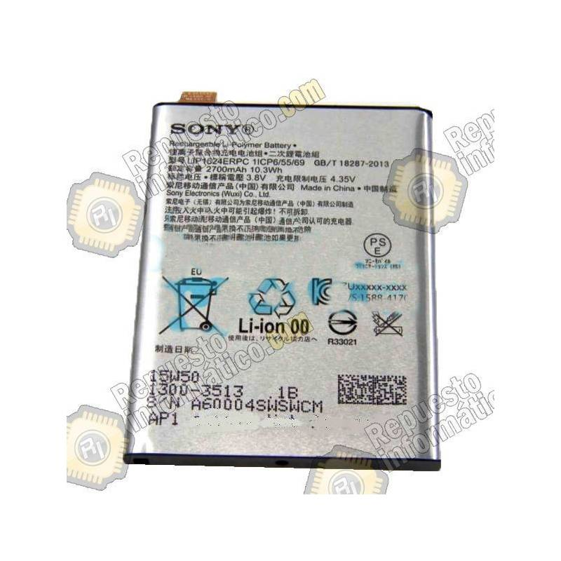 Batería Xperia X Performance F8131 2700Mah