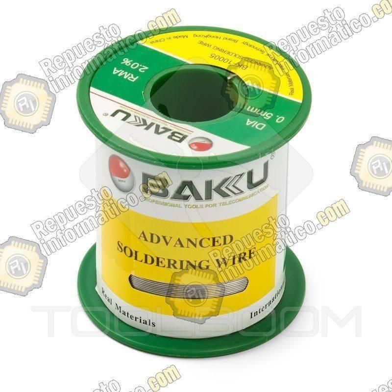 Cable Estaño para Soldadura Avanzada BK-10005