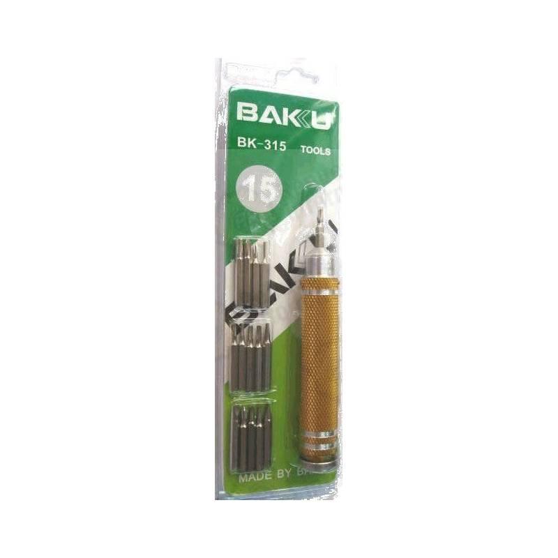 Juegos Destornilladores Baku BK-315
