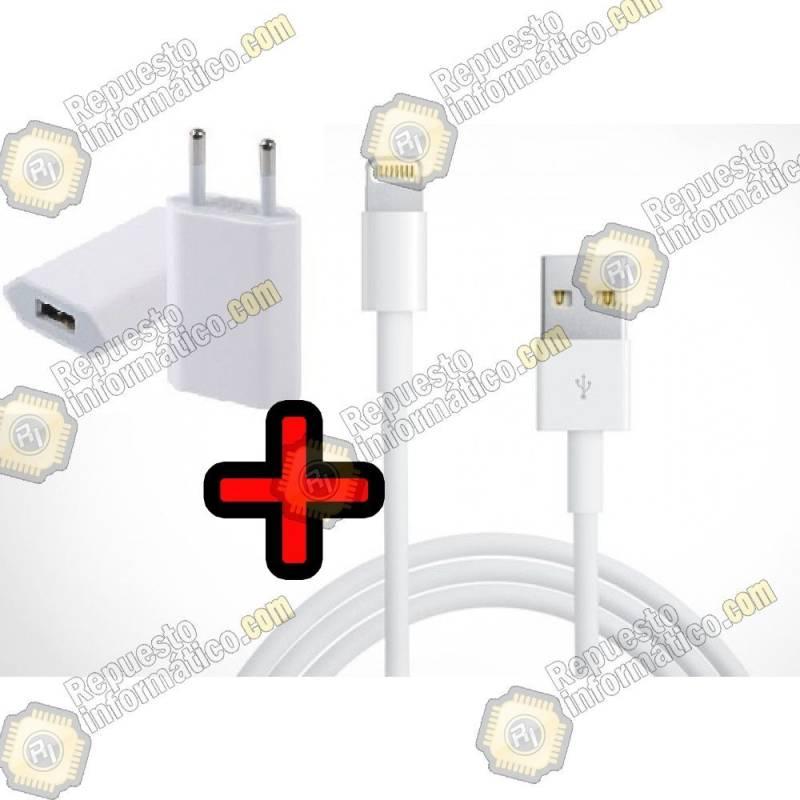 Adaptador + Cable para Serie iPhone 5 / iPhone 6