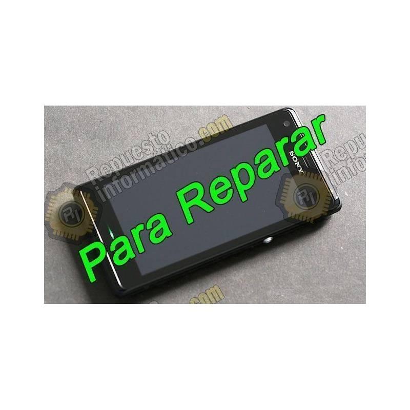 Pantalla Completa para Xperia M (C1905) con Cristal roto (PARA REPARAR)