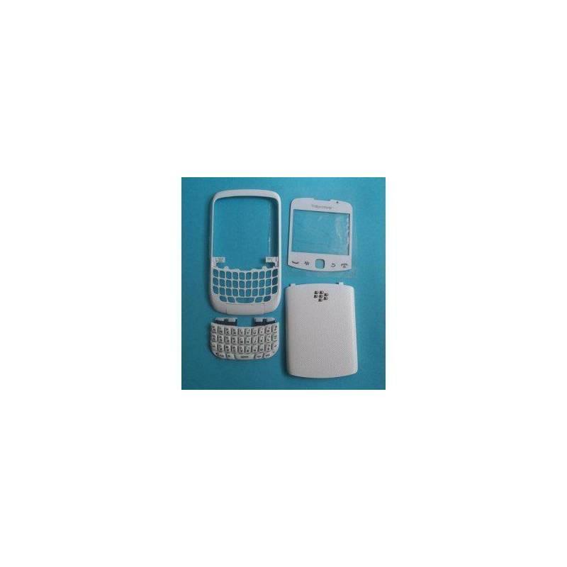 Carcasa Blanca Blackberry 8500
