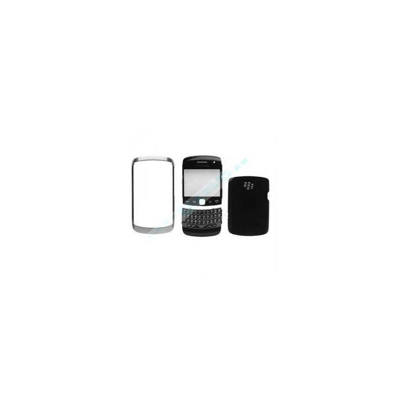 Carcasa Blackberry 9360 Negra 4 Partes
