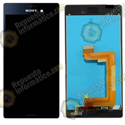 Pantalla (LCD+Táctil) Xperia M4 Aqua Negra