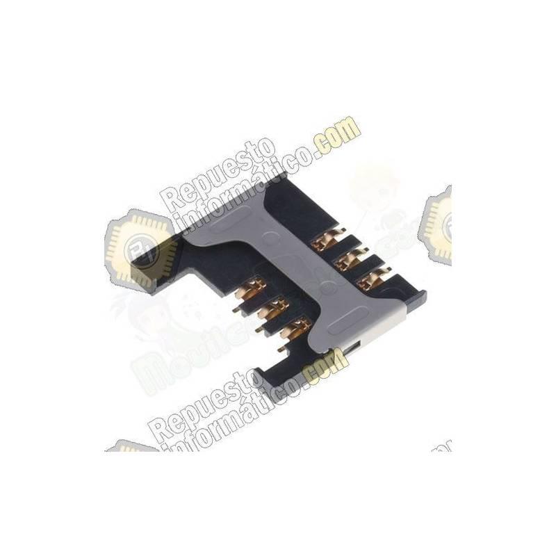 Conector Lector Sim para Blackberry 9300 / 9000