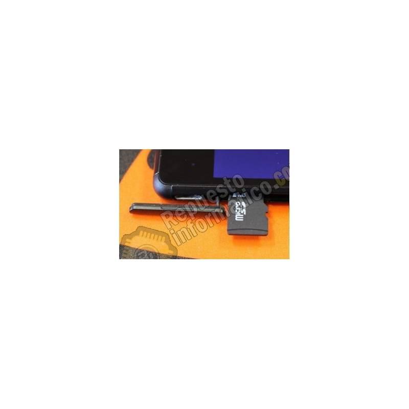 Tapa Micro SD Negra Xperia M4 Aqua E2303